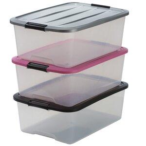 3-tlg. Aufbewahrungsbox Top aus Kunststoff von I..