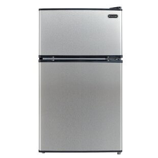 3.4 cu. ft. Compact Refrigerator with Freezer