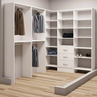 Where buy  Demure Design 75W - 96.25W Closet System ByTidySquares Inc.