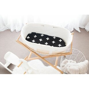 Snell Bassinet Crosses Mattress Cover by Harriet Bee Read Reviews