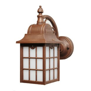 Inexpensive Archard 1-Light Outdoor Wall Lantern By Darby Home Co