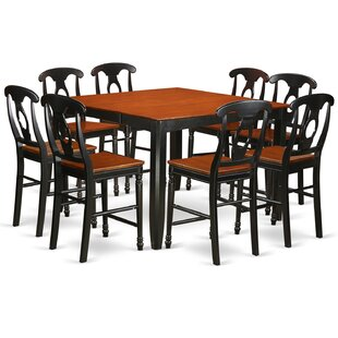 Tamarack 9 Piece Counter Height Pub Table Set Red Barrel Studio