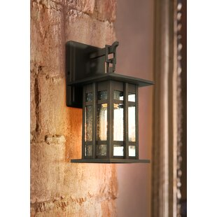 Savings Polanco Outdoor Wall Lantern By Loon Peak