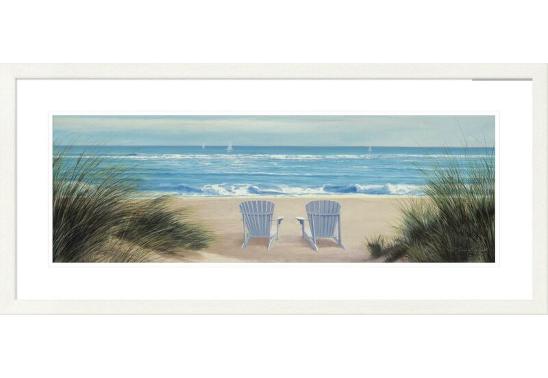 Highland Dunes Coastal Among Friends Ii By Diane Romanello Picture Frame Graphic Art Print On Paper Wayfair