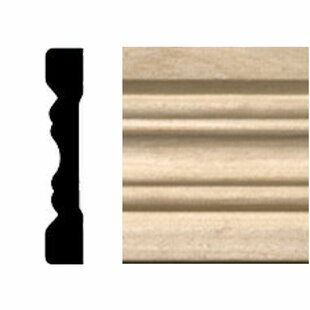 Hardwood Fluted Casing/Chair Rail Moulding