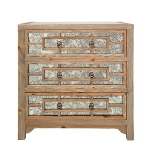 Estelle 3 Drawer Accent chest By Loon Peak