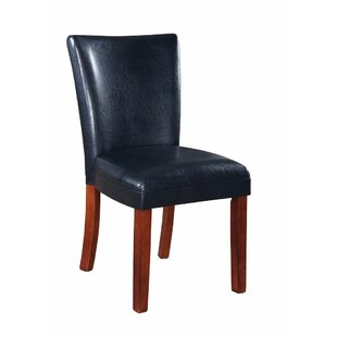 Wedge Parson Upholstered Dining Chair (Se..