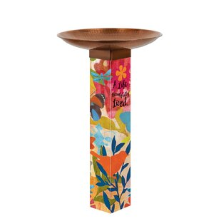Studio M Sentimental Journey Birdbath