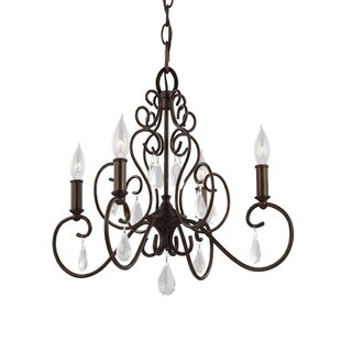 Astoria Grand Byrone 4-Light Candle Style Chandelier