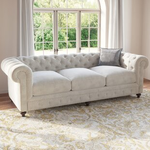 One Allium Way Panos Chesterfield Sofa