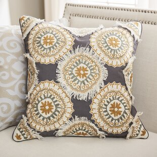 Tremaine Cotton Duck/Slub Throw Pillow