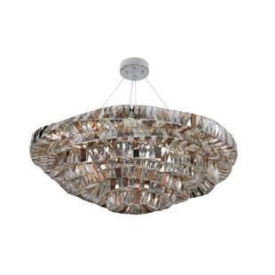 Gehry 1-Light Crystal Pendant by Allegri by Kalco Lighting