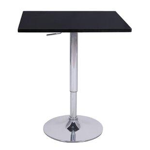 Zeta Adjustable Height Pub Table (Set of 4) Vandue Corporation