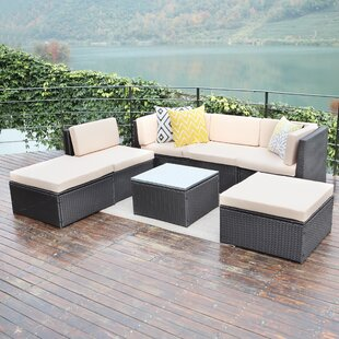 Wilma 7 Piece Sofa Seating Group with Cushions
