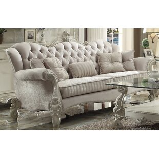 Shop Medley Standard Sofa with 5 Pillows by Astoria Grand