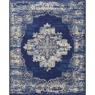 Susan Navy Blue Area Rug