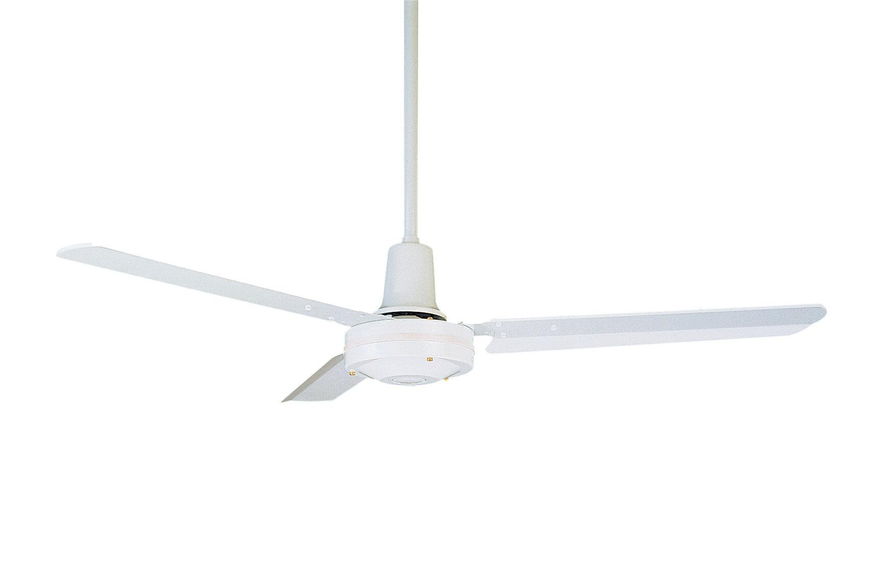 Emerson fans 48 heat industrial 3 blade ceiling fan reviews wayfair aloadofball Gallery