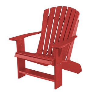 Patricia Plastic/Resin Adirondack Chair by Rosecliff Heights