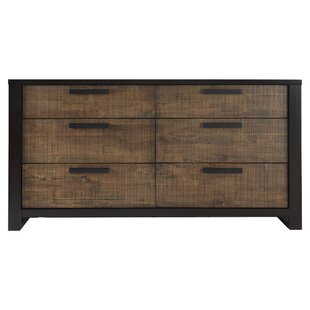 Laurel Foundry Modern Farmhouse Arrie 6 Drawer Double Dresser Image
