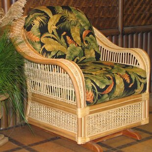 Spice Islands Wicker Single Glider