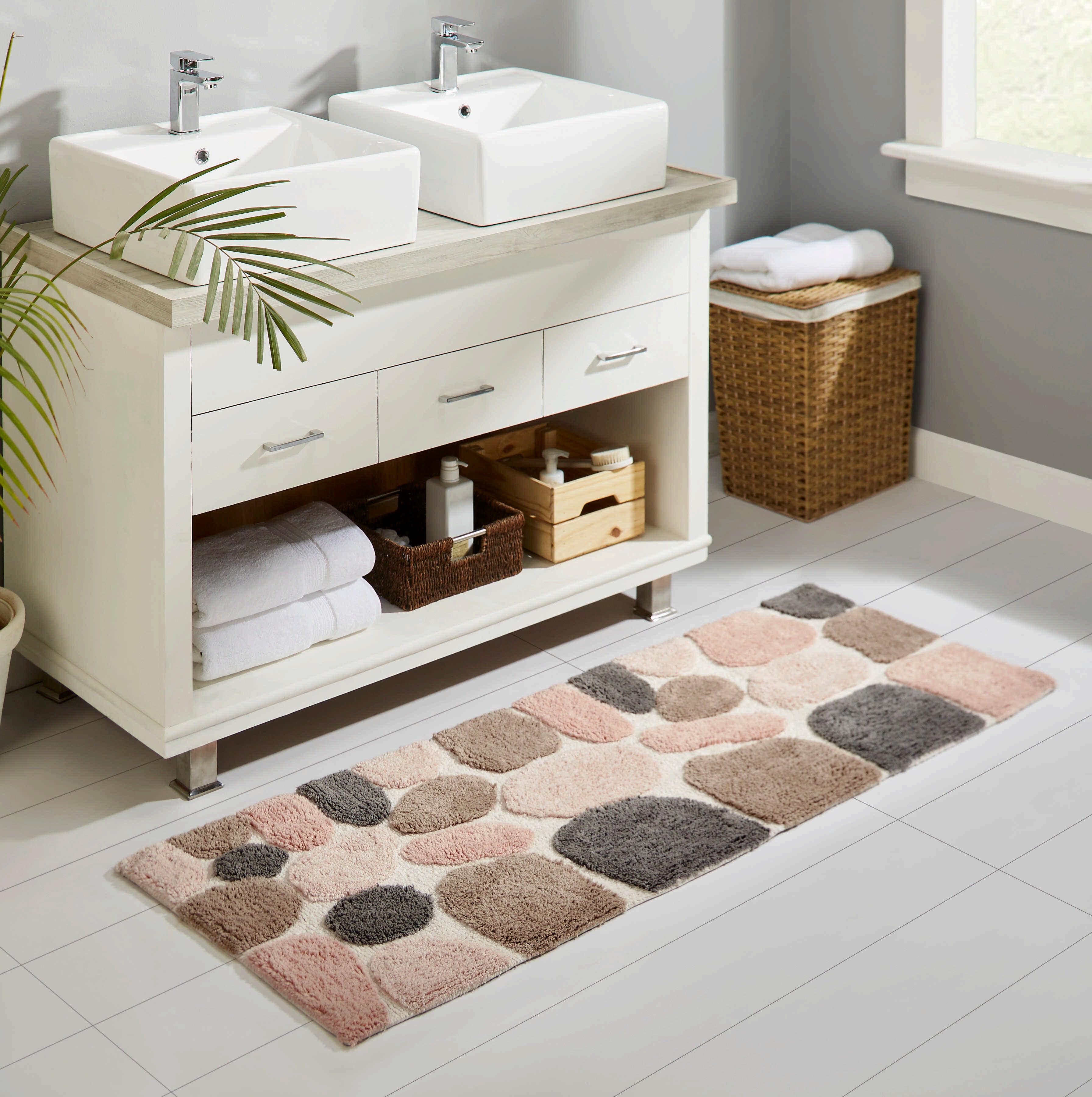 Pink Bath Rugs Mats Bathrooms You Ll Love In 2021 Wayfair