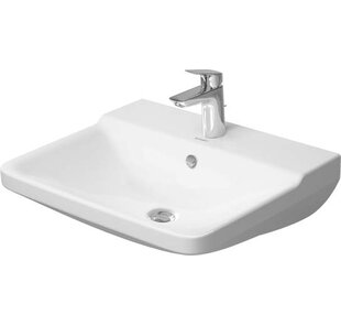 Looking for P3 Comforts Ceramic 22 Wall Mount Bathroom Sink with Overflow By Duravit