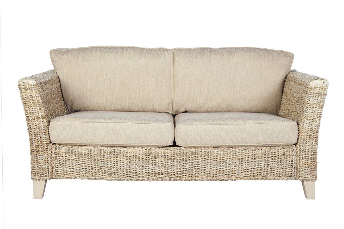 Adalicia Banana Leaf 3 Seater Conservatory Sofa