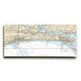 Wooden Longshore Tides Map Wall Art You Ll Love In 2021 Wayfair