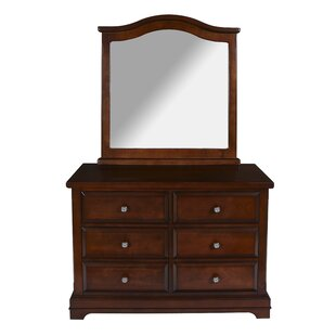 Scaggs 6 Drawer Double Dresser by Harriet Bee