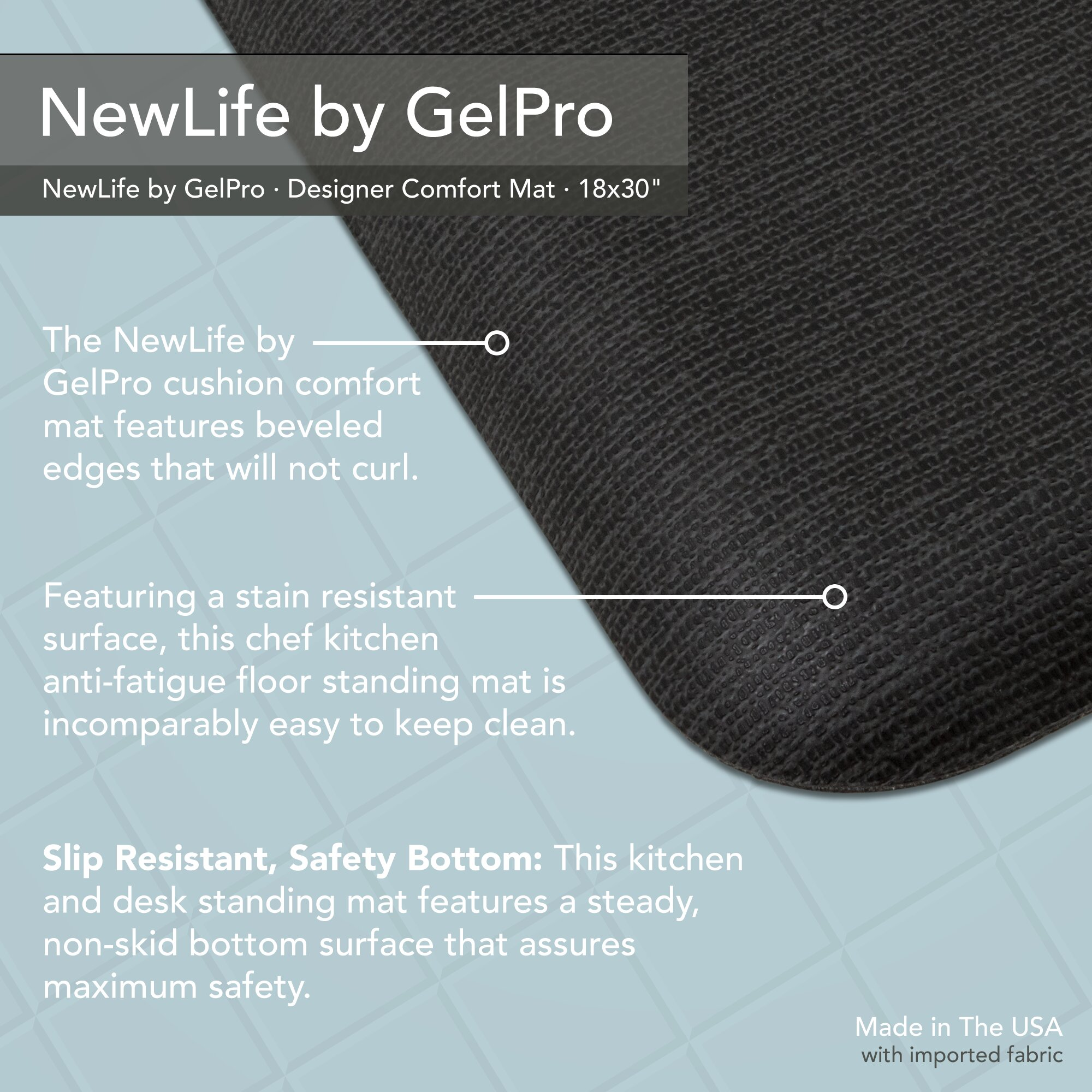 GelPro Grasscloth Designer Comfort Kitchen Mat U0026 Reviews | Wayfair