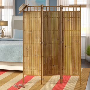 Affordable Price Josephine 3 Panel Room Divider By Beachcrest Home