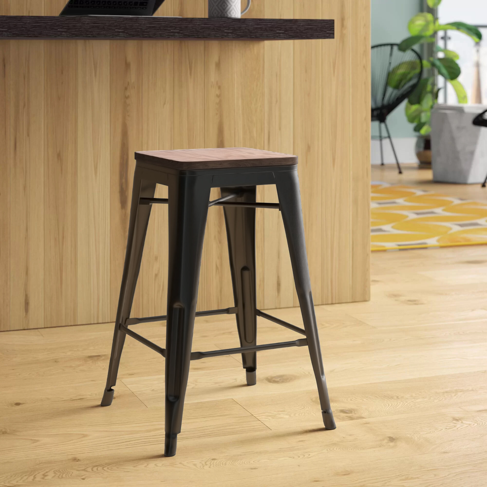Backless Bar Stools Counter Stools You Ll Love In 2020 Wayfair