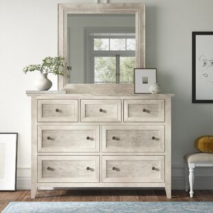 Jarman 7 Drawer Dresser with Mirror by Kelly Clarkson Home