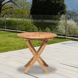 Crider Solid Wood Bistro Table