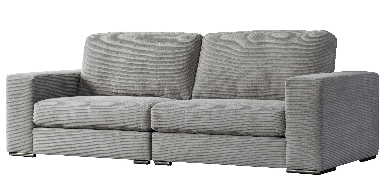 Latitude Run Acanva Classic Modern Corduroy Large Sofa | Wayfair