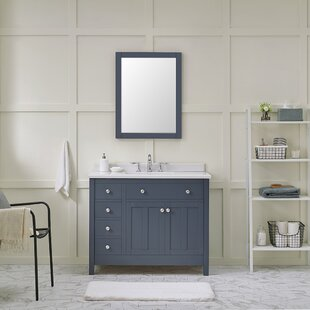 Newcastle 42 Single Bathroom Vanity Set