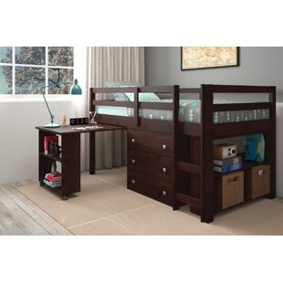 Asny Twin Loft 4 Piece Bedroom Set