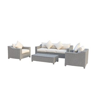 Chatham 4 Piece Sofa Seating Group With Cushion