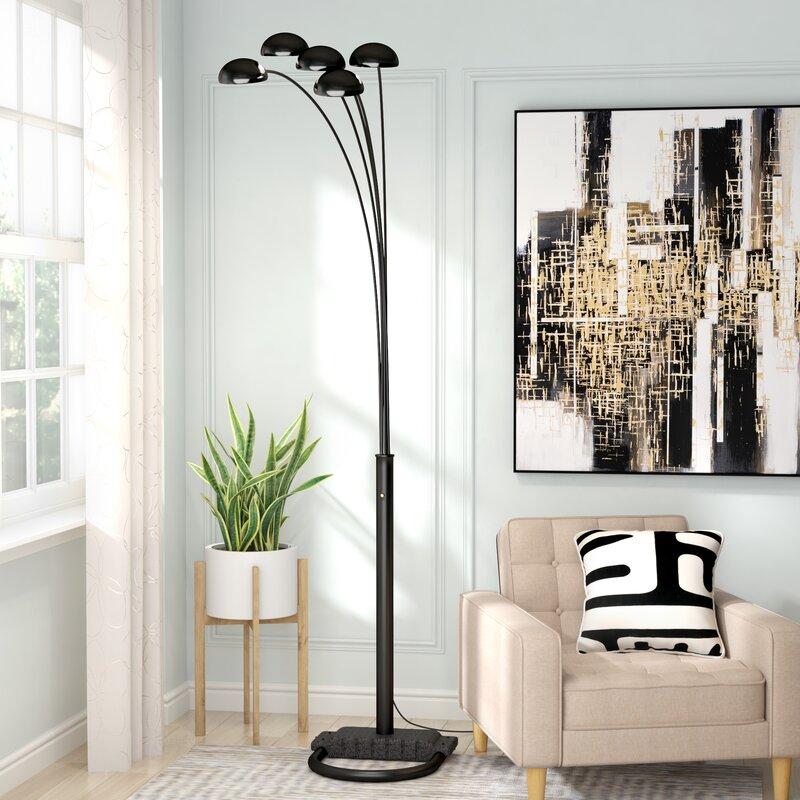 "Geneva 10"" Tree Floor Lamp"