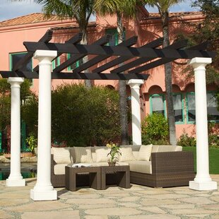 Montesson 12 Ft. W x 12 Ft. D Pergola by Art Frame Direct