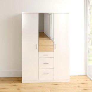 Alloway 3 Door Wardrobe By Ebern Designs