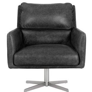 Easton Swivel Armchair by Sunpan Modern