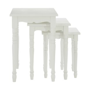 Gosling 3 Piece Nest Of Tables By Beachcrest Home
