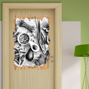 Green Vegetables Wall Sticker By East Urban Home