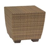 Saddleback Wicker Side Table
