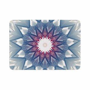 Angelo Cerantola Starburst Digital Memory Foam Bath Rug