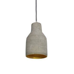 V 1-Light Cone Pendant by Urbanest