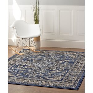 Rosie Blue/Gray Area Rug