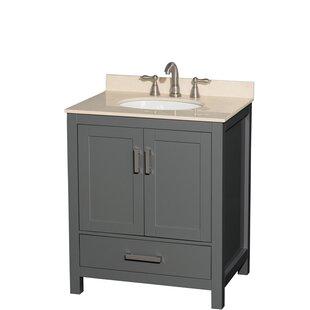 Sheffield 30 Single Bathroom Vanity Set by Wyndham Collection