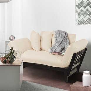 Best Choices Brazil Lounger Futon and Mattress by Charlton Home